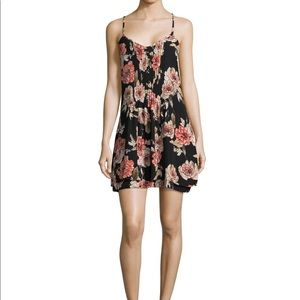 Sanctuary Spring Fling dress in wine floral,S,NWT